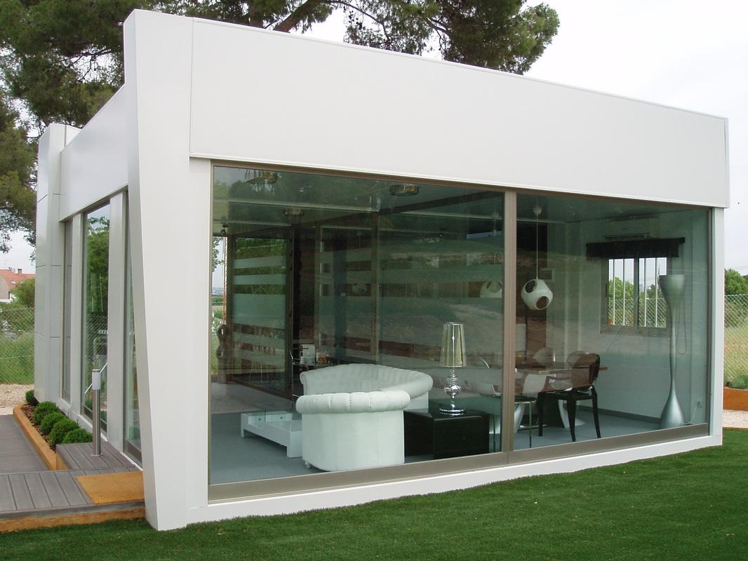Oficinas prefabricadas y casetas de informaci n for Casetas de jardin baratas de segunda mano