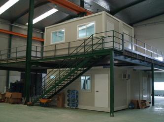 Construcciones modulares y oficinas prefabricadas for Oficina prefabricada