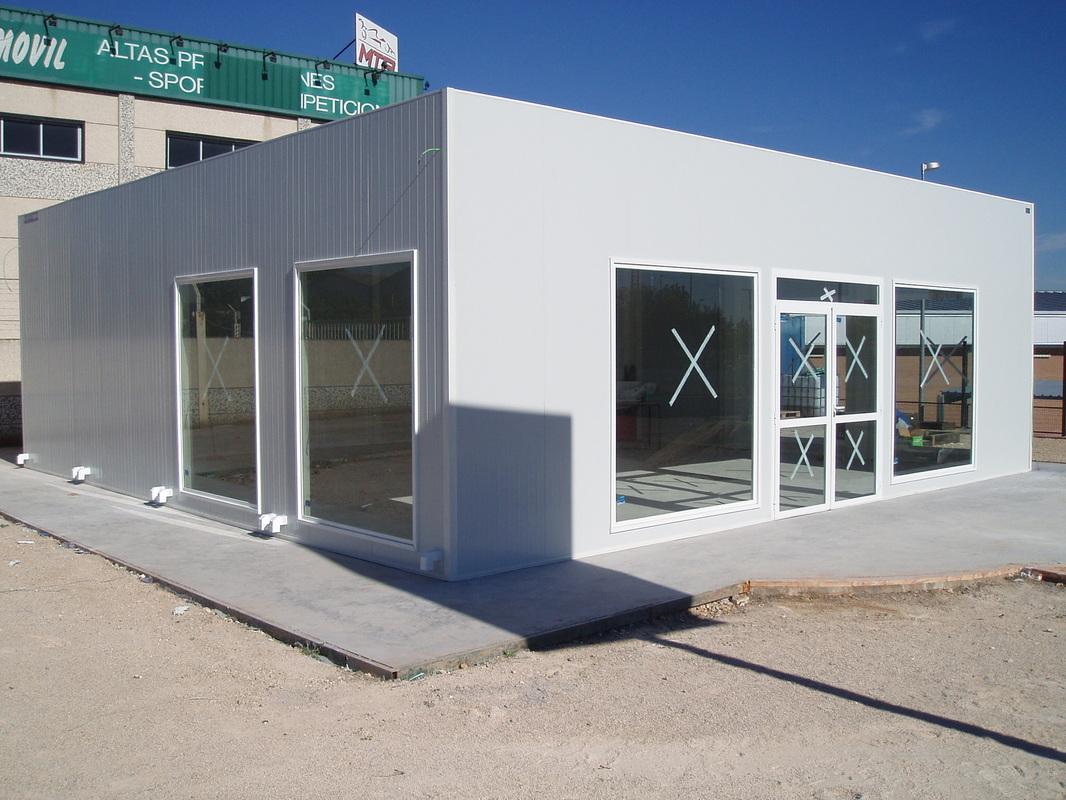 Construcciones modulares y oficinas prefabricadas for Construccion de oficinas modulares